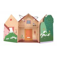 China Romantic Paper Gift Packaging Box / Cardboard House Shaped Gift Box on sale