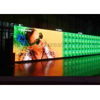 Quality Customized HD P4 Indoor Advertising LED Display Full Color LED message board Front / Back Service for sale