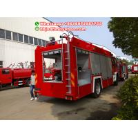 Brand new FTR ISUZU water foam fire truck with 6000liters for sale