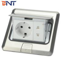 Quality Stainless steel  with EU power plug floor pop up socket for sale