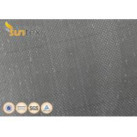 China Stress Relief Vibration Black Neoprene Coated Fiberglass Fabric For Expansion Joint on sale