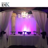 China stage backdrop stand pole black stage curtains wedding canopy on sale