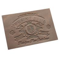 Quality Promotional Custom Clothing Labels Laser Engraved Silk Screen Printed Advertising for sale