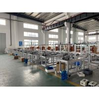 Quality Electric No Cylinder Medical Face Mask Making Machinery With 3 Line Energy Saving for sale