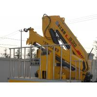 Buy Fast and Effective Hydraulic Truck Mounted Crane For Transporting Materials , at wholesale prices