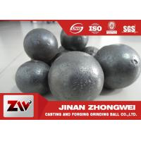 Quality Durable Cast Iron Forged Steel Grinding Media Balls In Mining Plant for sale