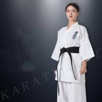China Ichigeki kyokushin kimono karate gi manufacturer Karate uniform for trainer on sale