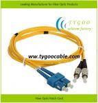 Quality Fiber Optic Patch Cord (SC/PC-FC/PC-SM-DX-3.0-1M) for sale