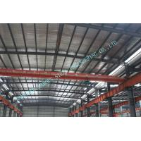 Buy Clear Span Pre-engineered Structral Steel Building System For Changable Standard at wholesale prices