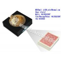 China XF Black Plastic Ashtray Double Camera For Invisible Bar-Codes Marked Playing Cards on sale