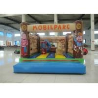 China Customized Mini Kids Inflatable Bounce House Quadruple Stitching 3 X 4 X 3m Inflatable mini bouncer on sale