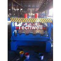 Quality Custom-made Floor Deck Roll Forming Machine, Decking Sheet Roll Former for sale