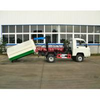 Quality Rear Hydraulic Hooklift Waste Collection Trucks 3m3 - 5m3 Body Volume for sale