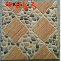 Buy cheap Stone Design 400x400 Floor Tiles , Patterned Outdoor Tiles 400 X 400 For Kitchen from wholesalers