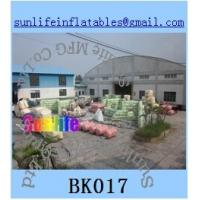 Buy cheap inflatable army paintball bunker Flexible combination from wholesalers