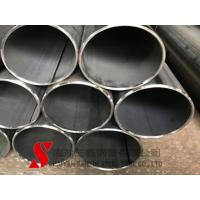 Quality Wear Resistant Round Welded Steel Tube 13mm Cold Drawn High Precision for sale