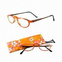 China Colorful Glasses with Spring Temples and Matching Case on sale