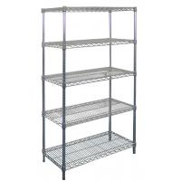 warehouse heavy duty wire shelving quality warehouse. Black Bedroom Furniture Sets. Home Design Ideas