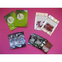 Quality OEM Customized Herbal Incense Plastic Pouches Packaging with Zip Lock for sale