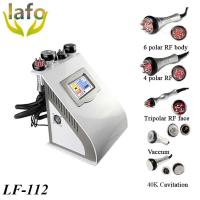 Quality LF-112 5 IN 1Vacuum Cavitation Bipolar RF Skin Tightening Machine for sale