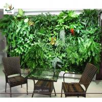 Quality UVG GRW06 Wholesale Fake Garden Walls design Plant wall for Library Decoration for sale
