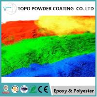 China Weather Resistant Outdoor Powder Coating , RAL1003 Signal Yellow Polymer Powder Coating on sale