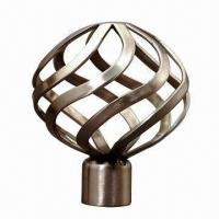 China Curtain Pole Finial on sale