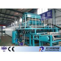 PLC Control Egg Carton Making Machine With Automatic Computer Software
