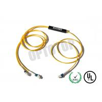 Quality Single Mode Fiber Coupler 2X2 LC Fbt Coupler Φ2 Yellow 1m Package C for sale
