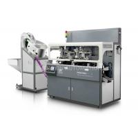 China Multicolor Plastic / Metal Cap Hot Foil Automatic Stamping Machine Side Surface on sale