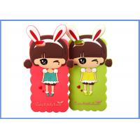 Quality Colorfull Mobile Phone Accessory 3D Silicone Case Cute Little Bush Phone Cover for sale