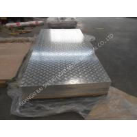 Quality AA1100 / 3003 Aluminium Checked Plate , Five Bars Aluminium Chequered Plate for sale