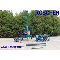 Quality Mountain Regions Borehole Drilling Machine , Hydraulic Drilling Rig Easy To Assembling for sale