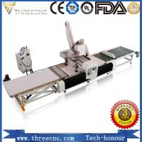 China wood furniture production line kitchen cabinet making machine wood design cnc machine price TM1325F.THREECNC on sale