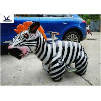 Quality Cute Animatronic Motorized Animal Scooters Remote Control Coin Operated for sale