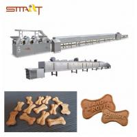 Quality Energy - Saving Dog Biscuit Making Machine / Pet Food Processing Line for sale