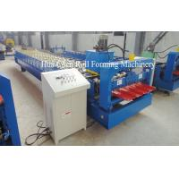 Quality Hydaulic Sheet 17 Row Metal Roof Roll Forming Machine 380V 50Hz For Industrial for sale