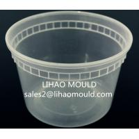 Buy cheap thin wall disposable plastic injection pail mould from Wholesalers