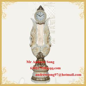 China classic polyresin floor clock Luxury antique floor clock Hot selling Q247GWS on sale