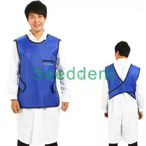 Quality Dental X-Ray Protective Lead Gown Clothes dentist lead gown 0.35mmpb SE-X043 for sale