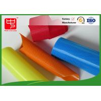 Colored Plastic Hook and Loop double sided adhesive velcro transparent color
