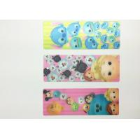 Buy cheap Eco-friendly Kids 3D Lenticular Bookmarks With FAMA 0.6mm PET from Wholesalers