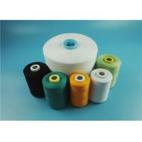Buy cheap Nature White Virgin 100% Polyester Ring Spun Yarn for Knitting / Sewing from Wholesalers