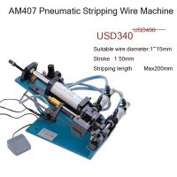 Quality AM407  4 core pvc cable stripper machine semi-automatic for sale