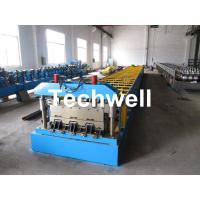 Quality 0.8-1.0mm thickness, CE Approved Floor Deck Roll Forming Machine for sale