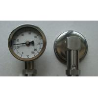 Quality Bottom Connection Bimetal Thermometer 0 - 150 Degree Temperature Measuring Instruments for sale