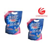 Buy Hang Hole Stand Up Pouch with Spout for Laundry Detergent Packaging at wholesale prices