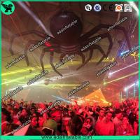 Quality Halloween Event Advertising Black Inflatable Spider Giant Inflatable Animal for sale