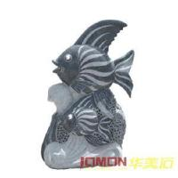 Quality Granite Fish Statue, Fish Carving (XMJ-FS02) for sale
