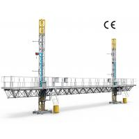 China Reliable Mast Climbing Platform Building Wall Construction And Decoration on sale